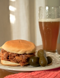 Indoor Smoked Pulled Pork BBQ